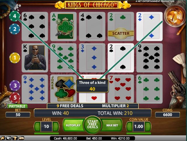 Trucchi Slot Machine King of Chicago gratis