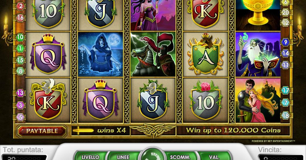 Trucchi slot machine Re Artu gratis