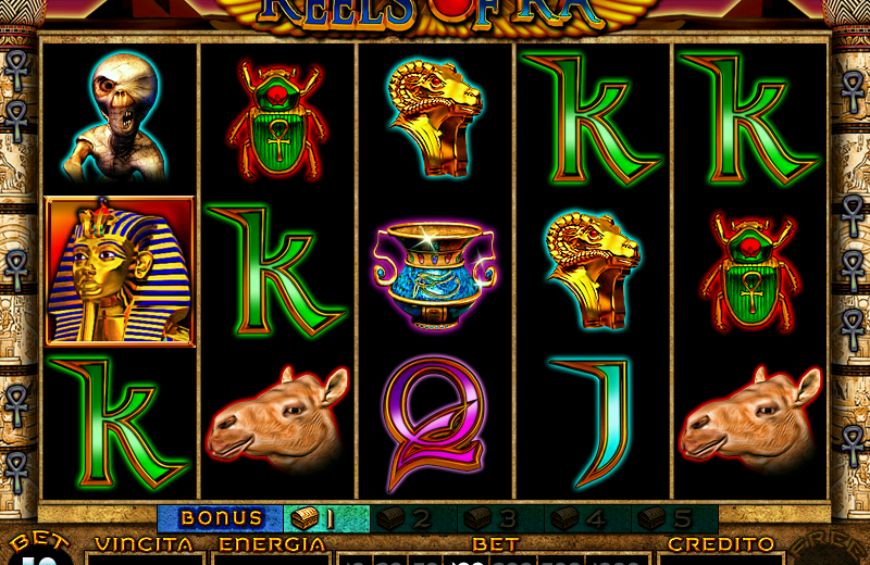 Trucchi Slot Machine Reels Of Ra gratis
