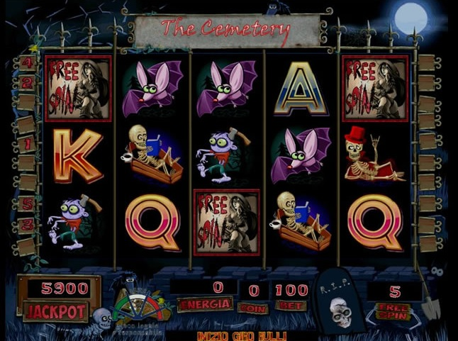 Trucchi Slot Machine The Cemetery gratis